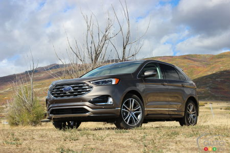 First Drive Of The  Ford Edge Luxurious Well Equipped And Roomy