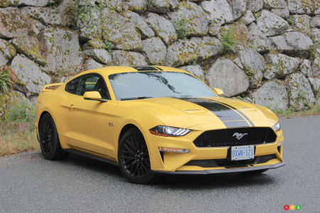2018 Ford Mustang GT Review: The right stuff