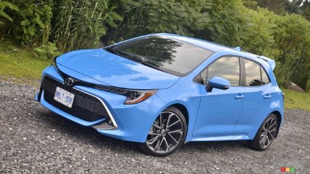 Toyota Corolla Hatchback : A high-performance hybrid version on the way?