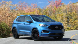 First Drive of the 2019 Ford Edge ST