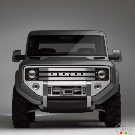 2020 Ford Bronco: Manual transmission likely