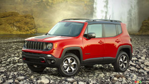 Jeep Renegade Will be Produced as a Plug-In Hybrid