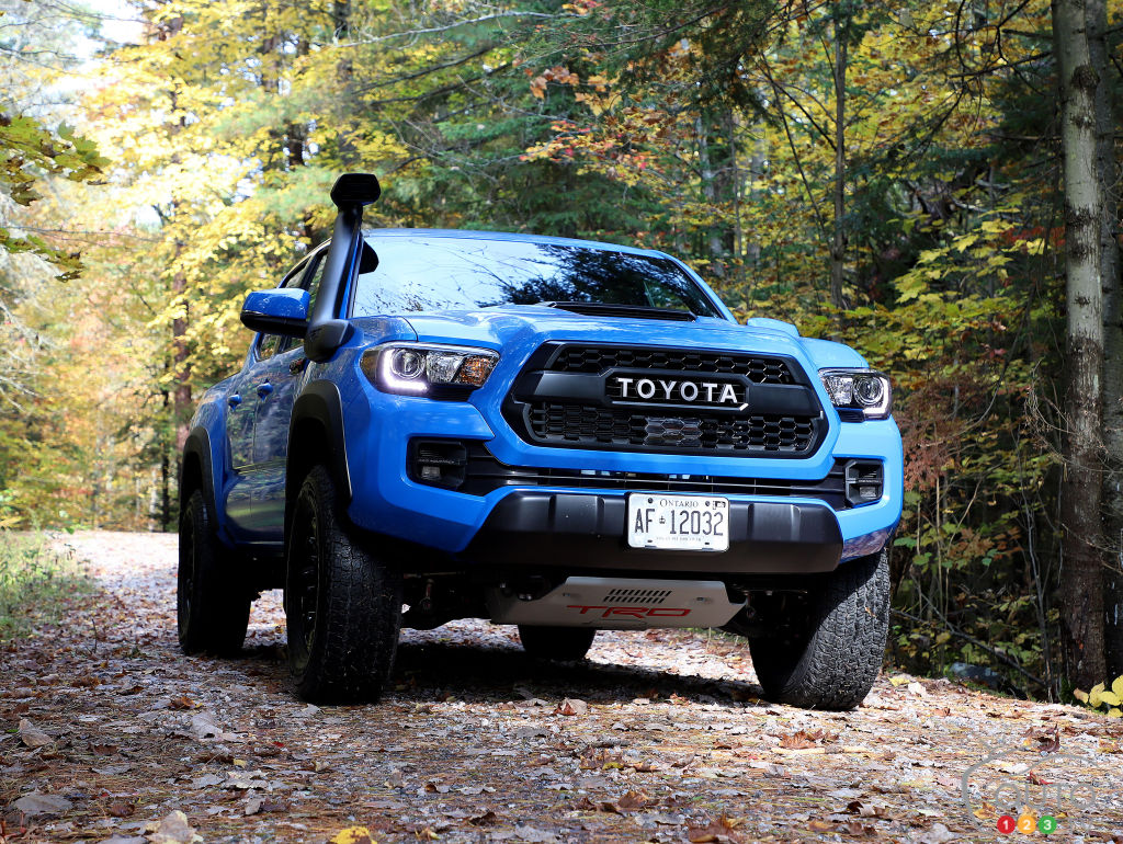 Toyota S 2019 Trd Pro Models Put To The Test Car Reviews Auto123