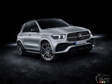 mercedes benz gle 1st plug in hybrid with 100 km range car news auto123. Black Bedroom Furniture Sets. Home Design Ideas