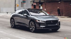 EPA determines 377-km range for the Jaguar I-Pace
