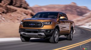 Début de la production du Ford Ranger