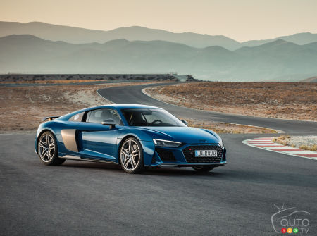 New look, more power for the 2019 Audi R8