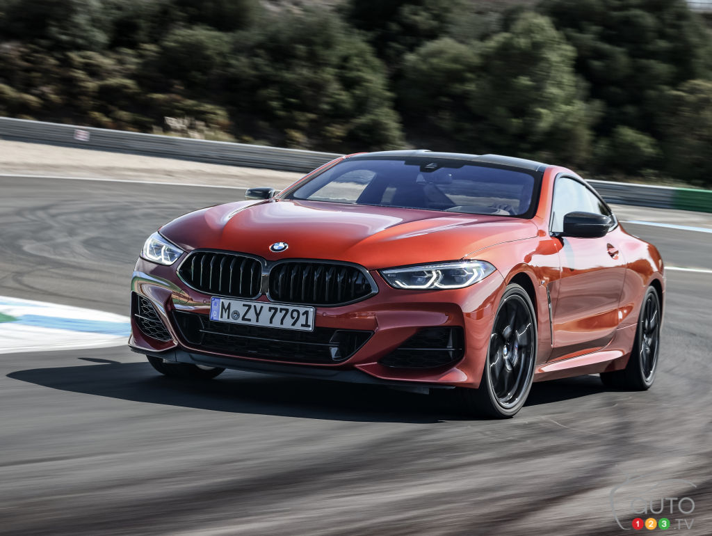 2019 bmw 8 series coupe: new photo gallery | car news | auto123