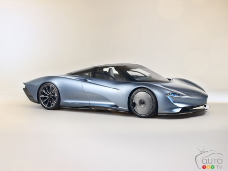 McLaren Gives New Speedtail Full Public Reveal