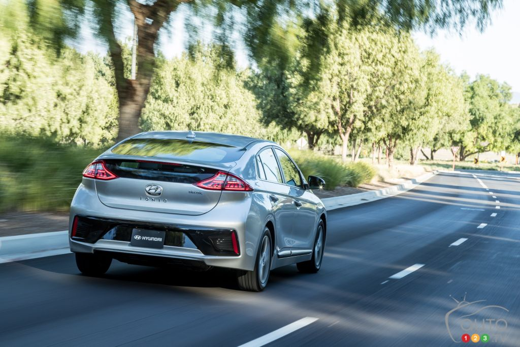 Hyundai's IONIQ Electric to get bigger battery, boosted range