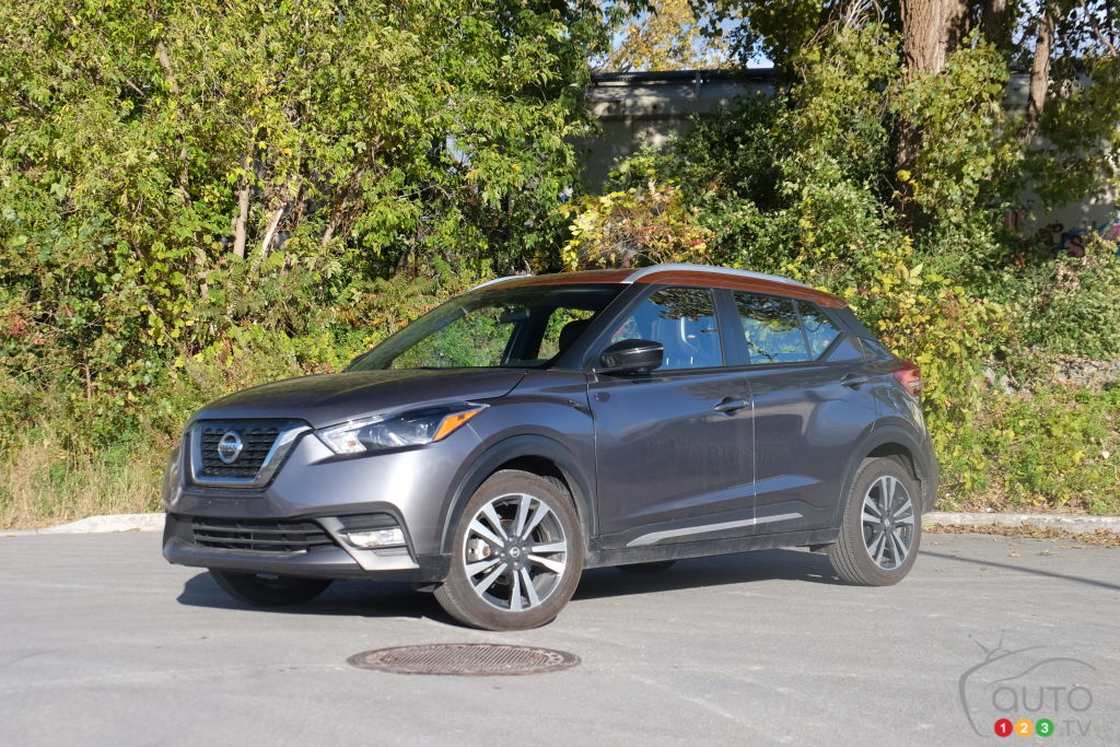 2018 Nissan Kicks Review and photo gallery