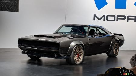 SEMA 2018: Mopar introduces the 1000-hp Hellephant