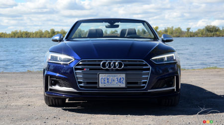 2018 Audi S5 Cabriolet Review : Funky but chic