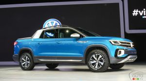 World Premiere for Volkswagen's Tarok Pickup in Brazil