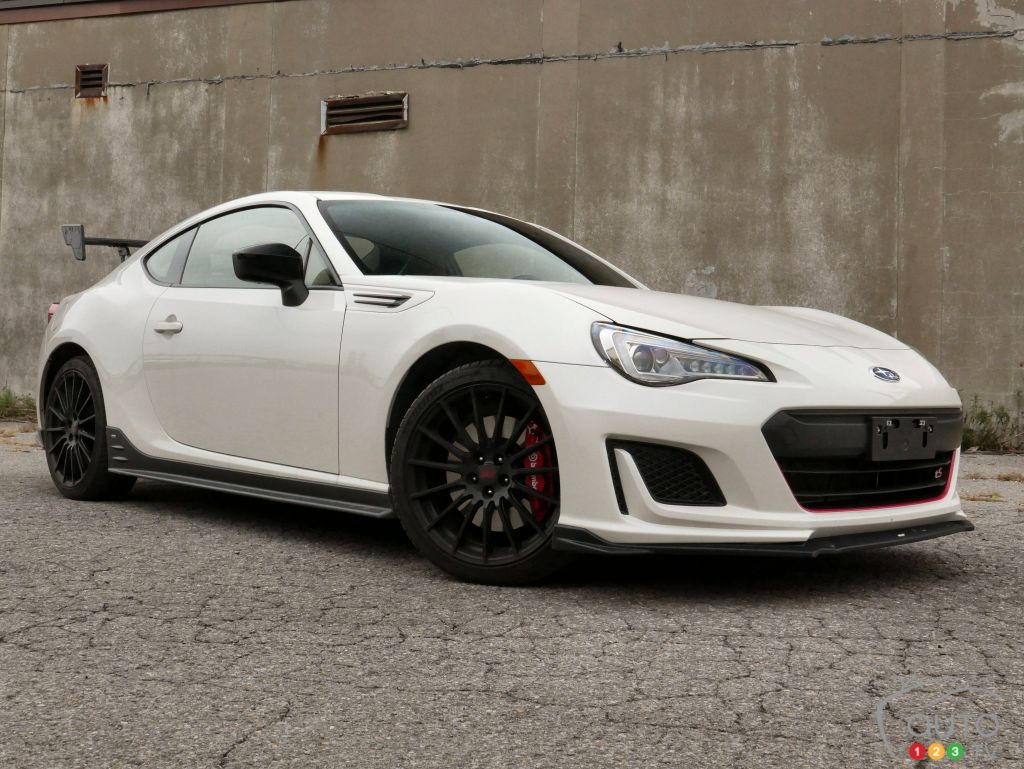 2018 Subaru BRZ tS : Boy Racer Out Of The Box