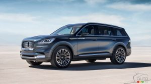 Los Angeles 2018 : Le Lincoln Aviator SUV fera ses débuts en version de production