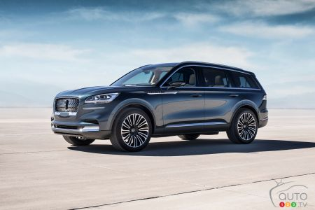Lincoln Suv 2018 >> Lincoln Aviator Production Version To Debut In Los Angeles Car