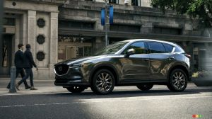 The 2019 Mazda CX-5 gets a Signature trim, new turbo engine