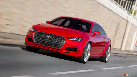 The next Audi TT will have four doors