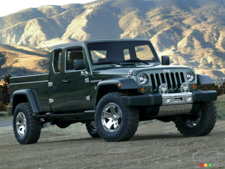 Jeep's pickup will be called the Gladiator, not the Scrambler