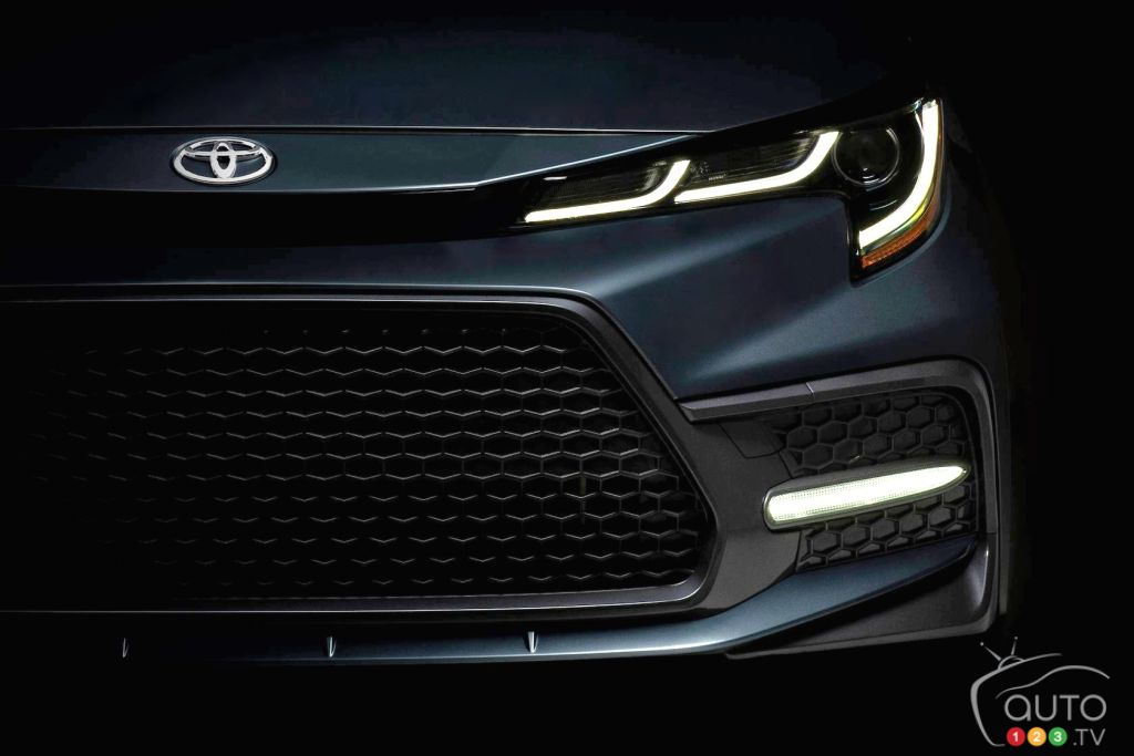 First image of the 2020 Toyota Corolla revealed