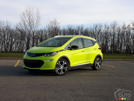 2019 Chevrolet Bolt Review Shock To The System