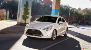 2019 Toyota Yaris Sedan Details and Pricing Announced