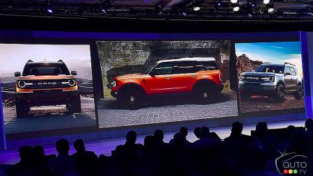 Leaked images surface of the upcoming Ford Bronco… or Baby Bronco