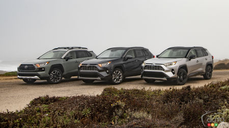 Canadian pricing for the 2019 Toyota RAV4