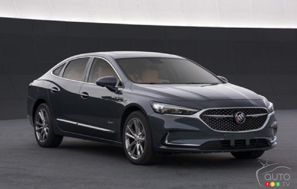 First images leaked of the next-gen 2020 Buick LaCrosse