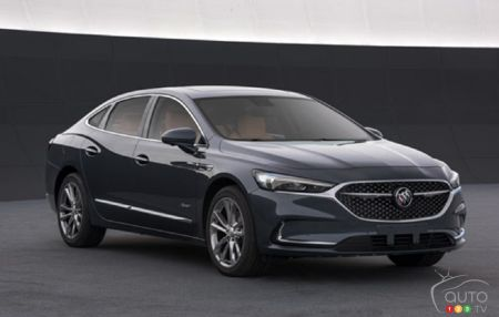 First images leaked of the next-gen 2020 Buick LaCrosse ...