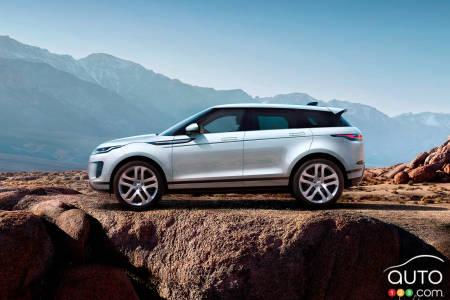 Land Rover Unveils Next Gen 2020 Range Rover Evoque Car News Auto123