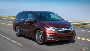 Honda Recalls 11,252 Odysseys for sliding door issue