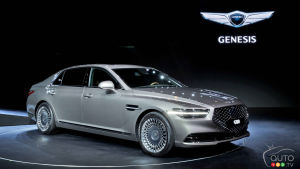 Revised 2020 Genesis G90 sedan unveiled, revealing big design changes
