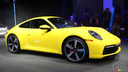 Los Angeles 2018: Next-Gen 2020 Porsche 911 Makes World Premiere