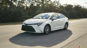 Los Angeles 2018: Discovering the 2020 Toyota Corolla Hybrid