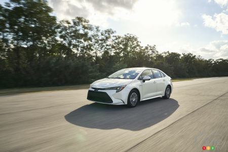Los Angeles 2018 Discovering The 2020 Toyota Corolla Hybrid