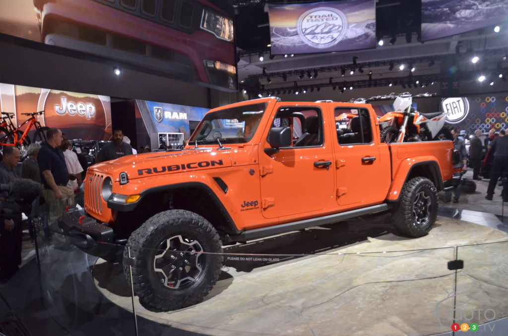 Los Angeles 2018: Jeep Gladiator Gets Big Reveal
