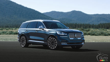 Los Angeles 2018: The 2020 Lincoln Aviator lands