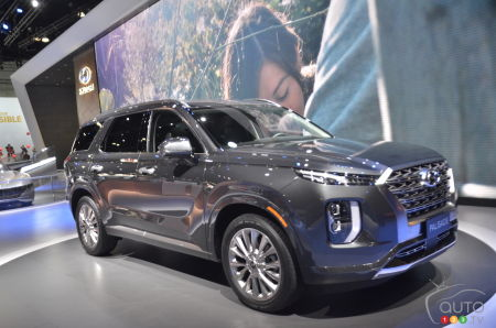 Los Angeles 2018 Hyundai Presents Its Palisade Suv Car News Auto123