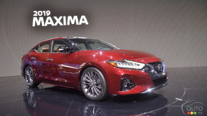 Los Angeles 2018: 2019 Nissan Maxima gets update