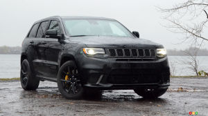 2018 Jeep Grand Cherokee Trackhawk Review: Coming through