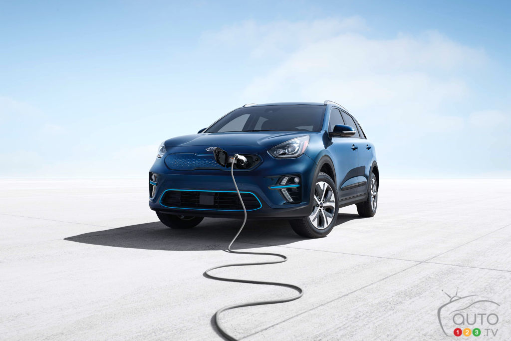 Los Angeles 2018: The Kia Niro EV makes debut