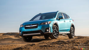 Los Angeles 2018 : Voici le Subaru Crosstrek hybride enfichable