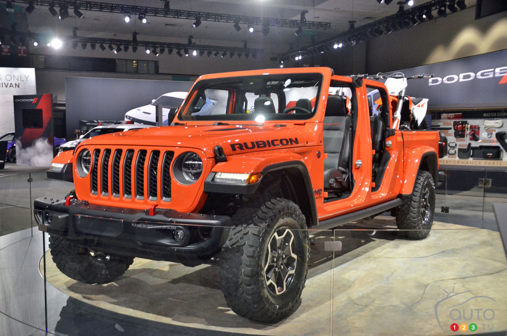 Already 20 MOPAR Accessories on Display for the Jeep Gladiator