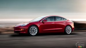 Tesla Model 3 production hits 1,000 per day