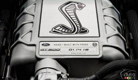 Ford Teases First Image of 2020 Shelby GT500