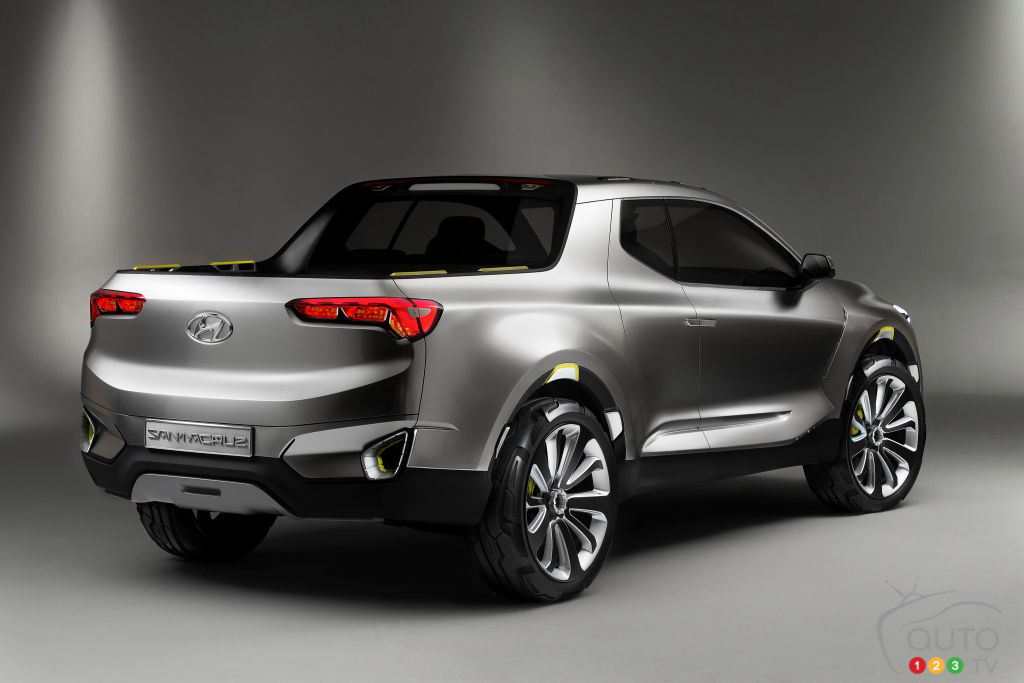 Hyundai's Santa Cruz-inspired pickup will get made