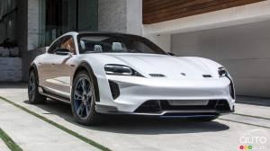 porsche double d j la production de la taycan actualit s automobile auto123. Black Bedroom Furniture Sets. Home Design Ideas