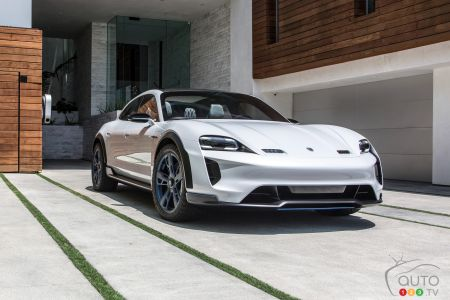 Huge demand for electric Porsche Taycan, production targets rev up